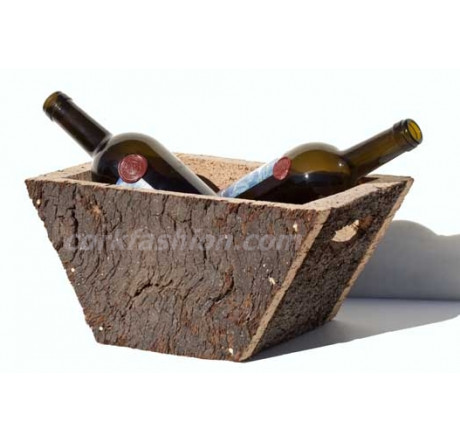 Basket for 2 bottles (model RC-GL0703002001) from the manufacturer Robcork in category Corkfashion